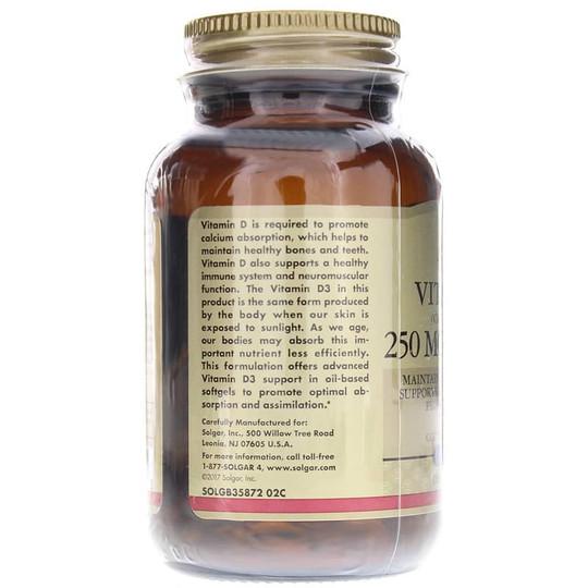 Vitamin D3 250 Mcg (10000 IU)