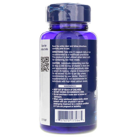 Vitamin D3 5000 IU with Sea-Iodine
