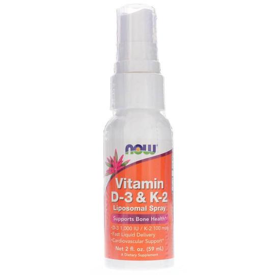 Vitamin D-3 & K-2 Liposome Spray