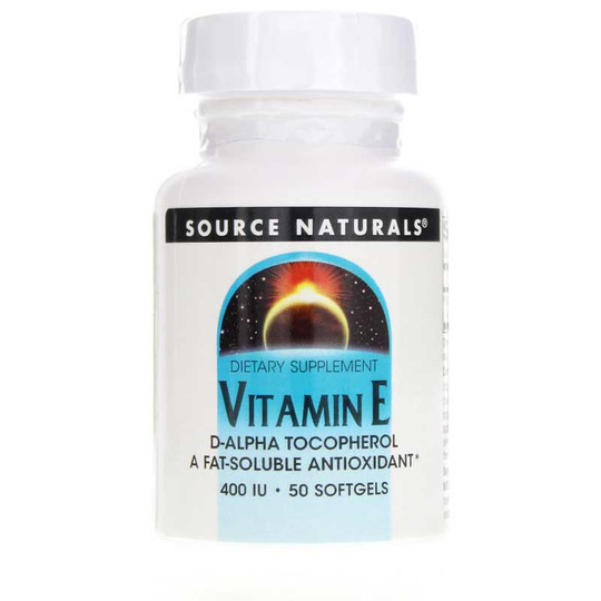 Vitamin E 400 IU d-Alpha Tocopherol