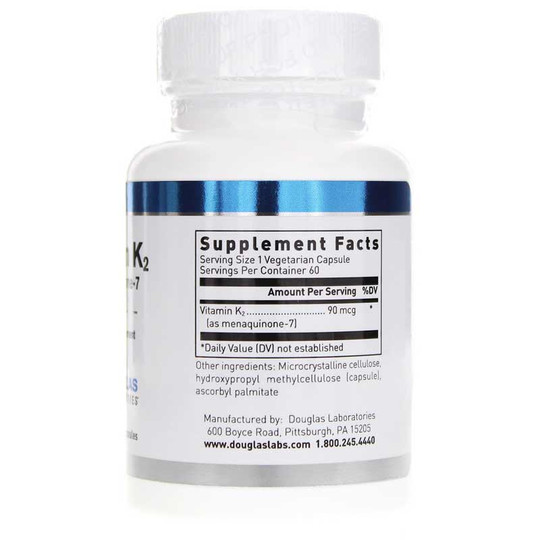 Vitamin K2 Menaquinone-7 90 Mcg