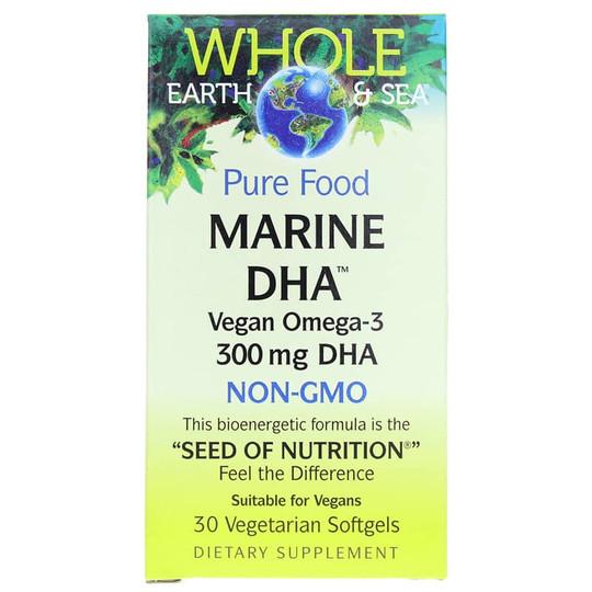 Whole Earth & Sea Marine DHA Vegan Omega-3