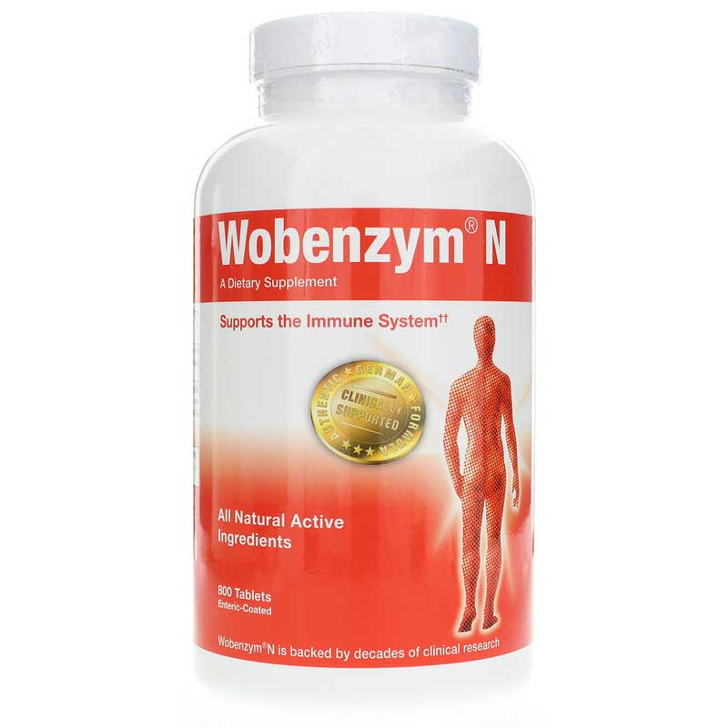Wobenzym N 800 Enteric Coated Tablets