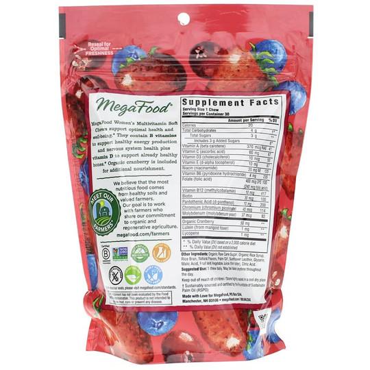 Women's Multivitamin Soft Chews Mixed Berry