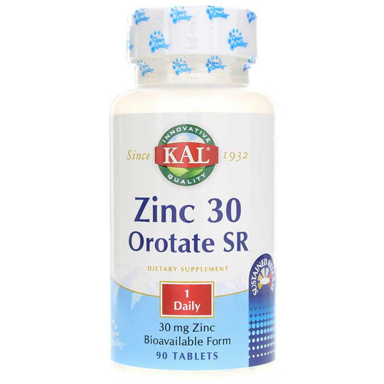 Zinc 30 Orotate Sustained Release