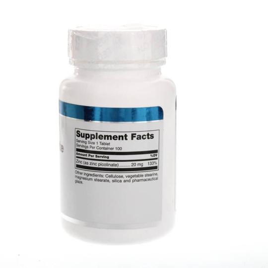 Zinc Picolinate 20 Mg Tablets